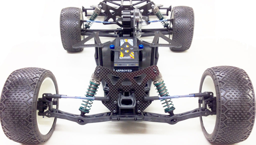 Psycho 1/10 Competition Short Course Modified Oval Racing Chassis Kit  w/Clear Body