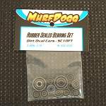 Rubber Sealed Bearing Set for Dirt Oval/SC10FT/Deviator
