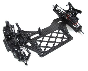 Creeper DD 1/10 2wd High Bite Direct Drive Late Model Chassis Kit